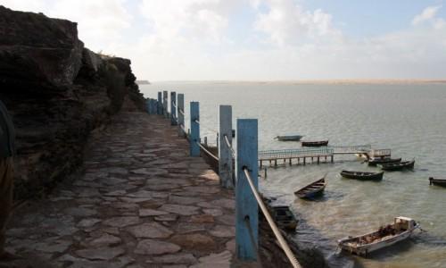 Zdjęcie MAROKO / Laâyoune-Sakia El Hamra / Park Narodowy Khenifiss / Laguna między pustynią,a oceanem