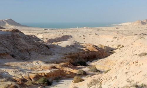 MAROKO / Laayoune-Sakia El Hamra / Village de P / Ouedzik nad oceanem