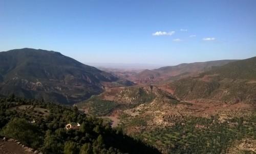 Zdjecie MAROKO / Południowe Maroko  / Gdzieś po drodze  / W drodze przez Atlas