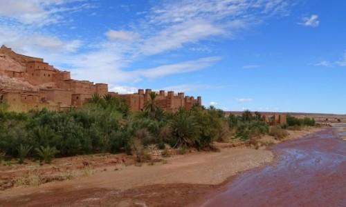 Zdjęcie MAROKO / Południe- prowincja  Ouarzazate / Ait Ben Haddou / Pod (innym) kątem