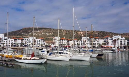 Zdjecie MAROKO / Sus-Massa / Agadir / Marina