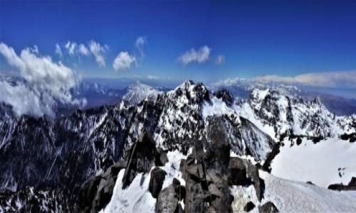 Zdjecie MAROKO / Atlas Wysoki / Jebel Toubkal / Panorama ze szczytu Toubkala