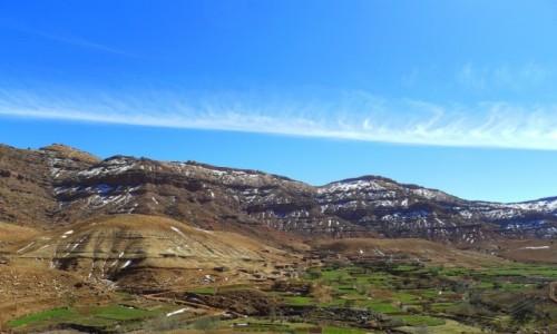 Zdjecie MAROKO / Południowe Maroko  / Gdzieś w Atlasie / Cukrem pudrem oprószone