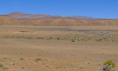 Zdjecie MAROKO / Południowe  Maroko  / Gdzieś po drodze  / Marokański recycling