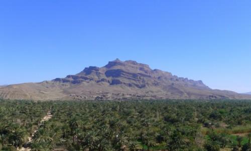 Zdjecie MAROKO / Południowe  Maroko  / Miasteczko Akdaz / Góra Dżabal Kisan