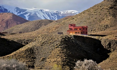Zdjęcie MAROKO / Atlas Wysoki / po południowej stronie przełęczy Tizi n'Tichka  / Harmonia czy dysonans.