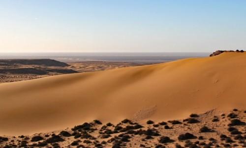 Zdjecie MAROKO / Sahara Zachodnia / okolice El-Hagunia / Saharyjskie przestrzenie