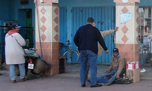 Zdjecie MAROKO / Maroko / gdzieś po drodze / Pucybut