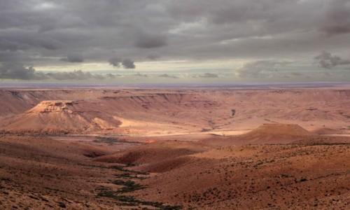 MAROKO / Maroko / gdzieś po drodze / Chmury nad Marokiem