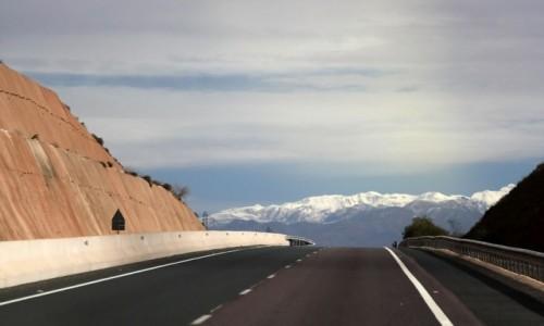 MAROKO / Maroko / gdzieś po drodze / Asfaltem przez Maroko