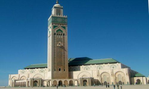 Zdjecie MAROKO / Casablanca / Casablanca / meczet Hassana
