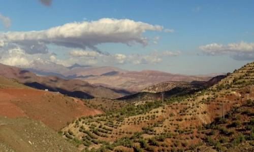 Zdjęcie MAROKO / Południe / w drodze / Marokańskie przestrzenie