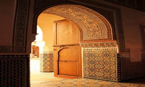 Zdjecie MAROKO / Marrakesz-Safi / Marrakesz / Dar Menebhi Palace