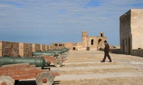 Zdjecie MAROKO / wybrzeże Maroka / Es-Sawira /  Forteca w Es-Sawirze