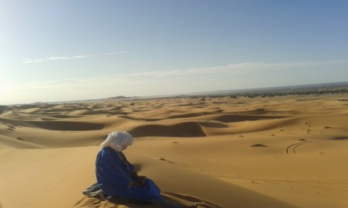 MAROKO / Maroko - Sahara / Merzuga / Sahara - Berberyjska
