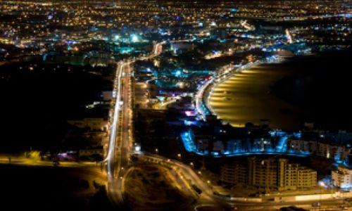 MAROKO / Susaria / Agadir / Agadir nocą