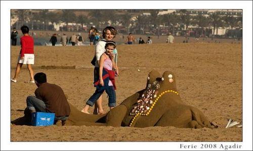Zdjecie MAROKO / Agadir / brak / Plaża