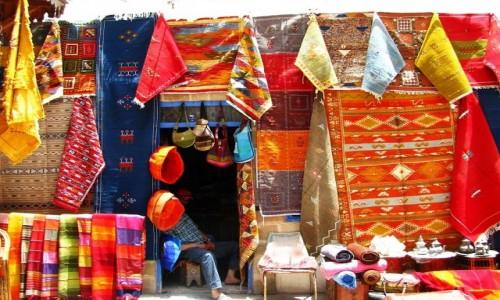 Zdjęcie MAROKO / trasa Agadir  Casablanka / As-Sawira (Mogador) / kolory Maroka