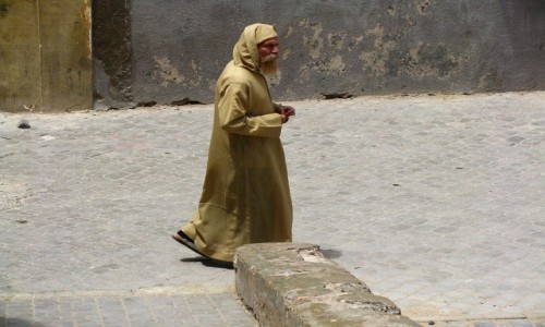 Zdjęcie MAROKO / trasa Agadir  Casablanka / Al Dżadida / Marokańczyk