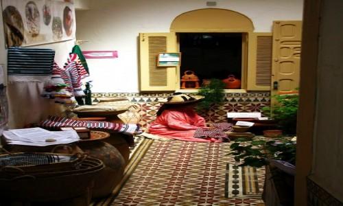Zdjęcie MAROKO / Rabat / kasba Oudaja / podwórze na kasbie