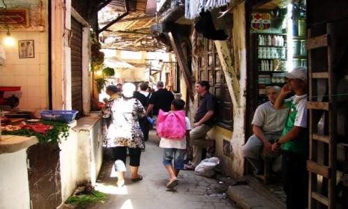 Zdjęcie MAROKO / Fez / Fes el-Bali / ulice mediny