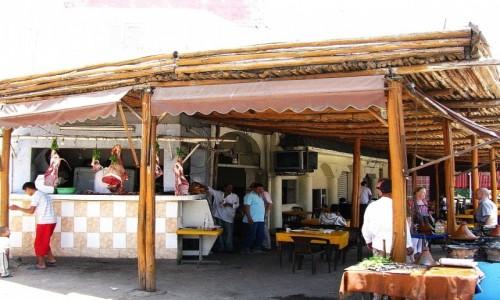Zdjecie MAROKO / trasa Fez - Marrakesz / gdzieś na trasie / przydrożny bar