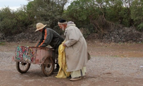 MAROKO / Maroko / gdzieś po drodze / Własny transport