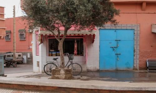 Zdjecie MAROKO / Maroko / gdzieś po drodze / Osiedlowy sklepik
