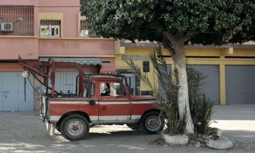 Zdjecie MAROKO / Maroko / gdzieś po drodze / Pomoc drogowa
