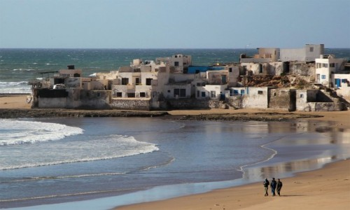 Zdjecie MAROKO / Souss-Massa-Drâa / Sidi Bibi / Wietrzna plaża