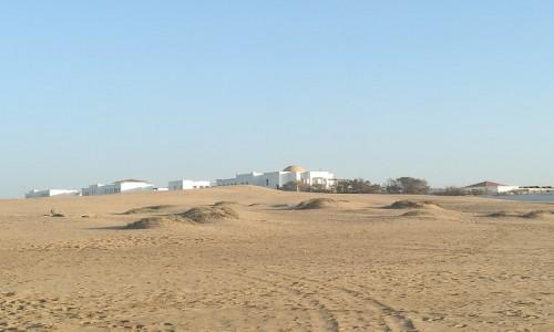 Zdjecie MAROKO / - / Plaża w Agadiże  / Nad Atlantykiem