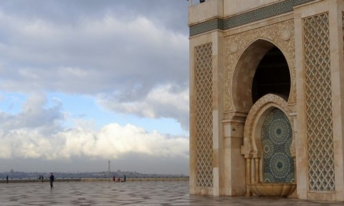 Zdjęcie MAROKO / Casablanca-Settat / Casablanca / Meczet Hassana II