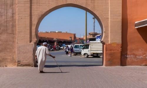 Zdjecie MAROKO / Marrakesz / Marrakesz / W Marrakeszu