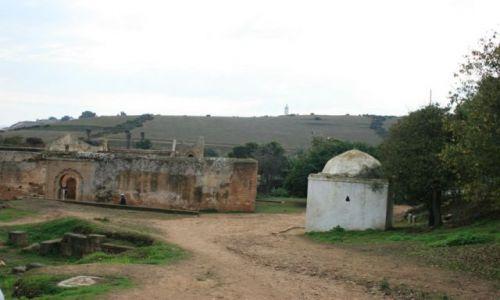 Zdjecie MAROKO / wybrzeże Maroka / Rabat / widok obok najs