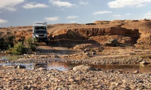 Zdjecie MAROKO /  Kulmim-Asmara /  ruiny starego fortu / Bou Jerif