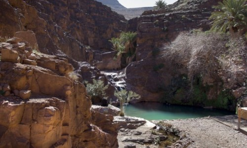 Zdjecie MAROKO / Maroko / Les cascades de Tizgui / Kaskada