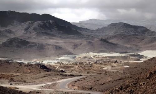 MAROKO / Maroko / Les cascades de Tizgui / W mgle i pyle