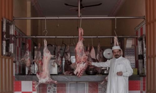 MAROKO / Sahara Zachodnia / Boujdour /  Ekskluzywny mięsny