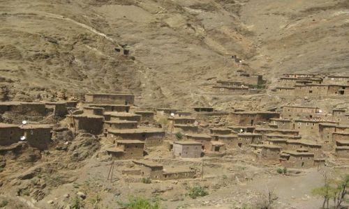 Zdjecie MAROKO / brak / gdzies w Maroku / jakas wioska