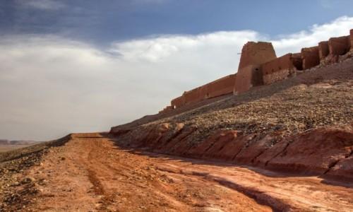 MAROKO / Tan-Tan, Guelmin - Es-Semara / Tafnidilt / Ruiny fortu