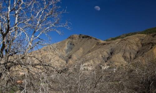 Zdjęcie MAROKO / Dara-Tafilalt / gdzieś po drodze / Z księżycem