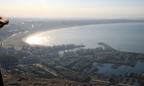 Zdjecie MAROKO / wybrzeże Maroka / Agadir / panorama miasta Agadir
