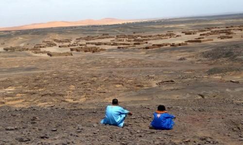Zdjęcie MAROKO / Sahara / Merzouga / Opuszczone forty Legii Cudzoziemskiej