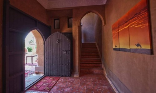 Zdjecie MAROKO / Meknes Tafilalt / Zagora / Hotel na pustyni