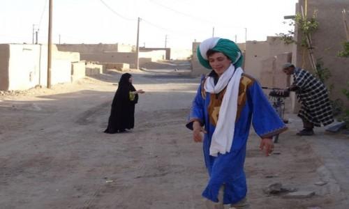 MAROKO / Merzouga / Merzouga / W pustynnej osadzie