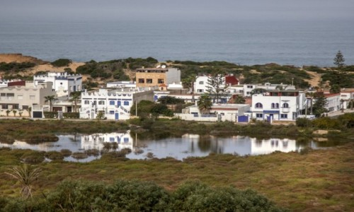 Zdjęcie MAROKO / El Jadida / Loualidia / Uroki laguny