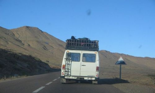 Zdjęcie MAROKO / brak / poludnie kraju / bezpieczny transport
