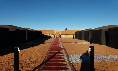 MAROKO / Merzouga / Erg Chebbi / Sand Desert Camp