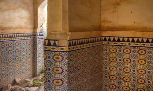 Zdjecie MAROKO / Marrakech-Tensift-El Haouz / Souiria Lakdima / Ruiny Kasbah Hamidouche