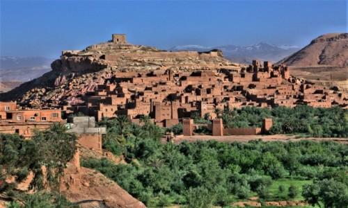 Zdjecie MAROKO / Ouarzazate / . / Ksar Ait-Ben-Haddou